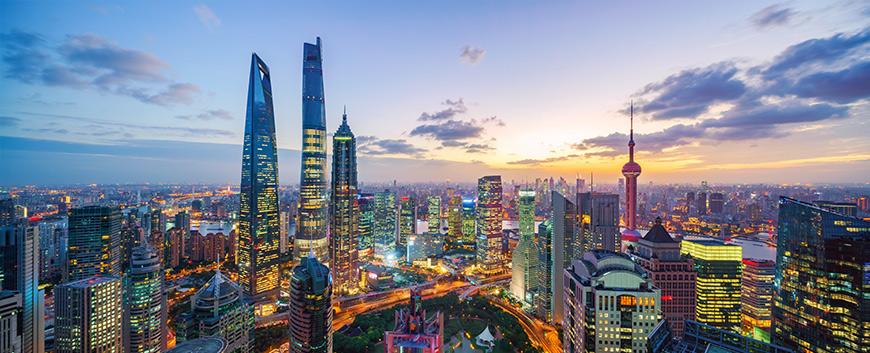Skyline Shanghai EDHEC academic partnership CEIBS