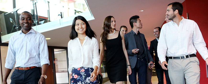 International students on campus - new scholarships