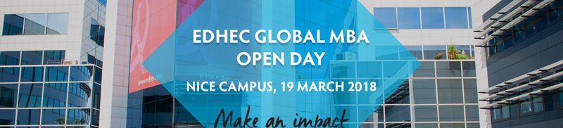 EDHEC Global MBA OPEN DAY