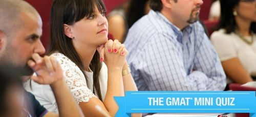Global MBA GMAT Quiz